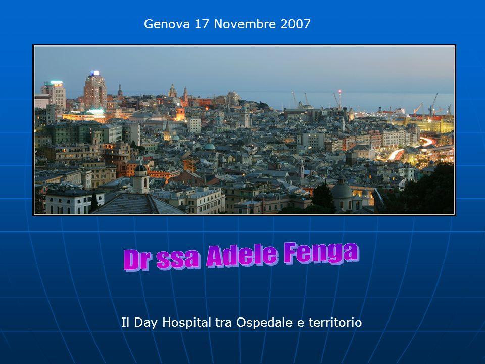 Genova 17 Novembre 2007 Il Day Hospital tra Ospedale e territorio