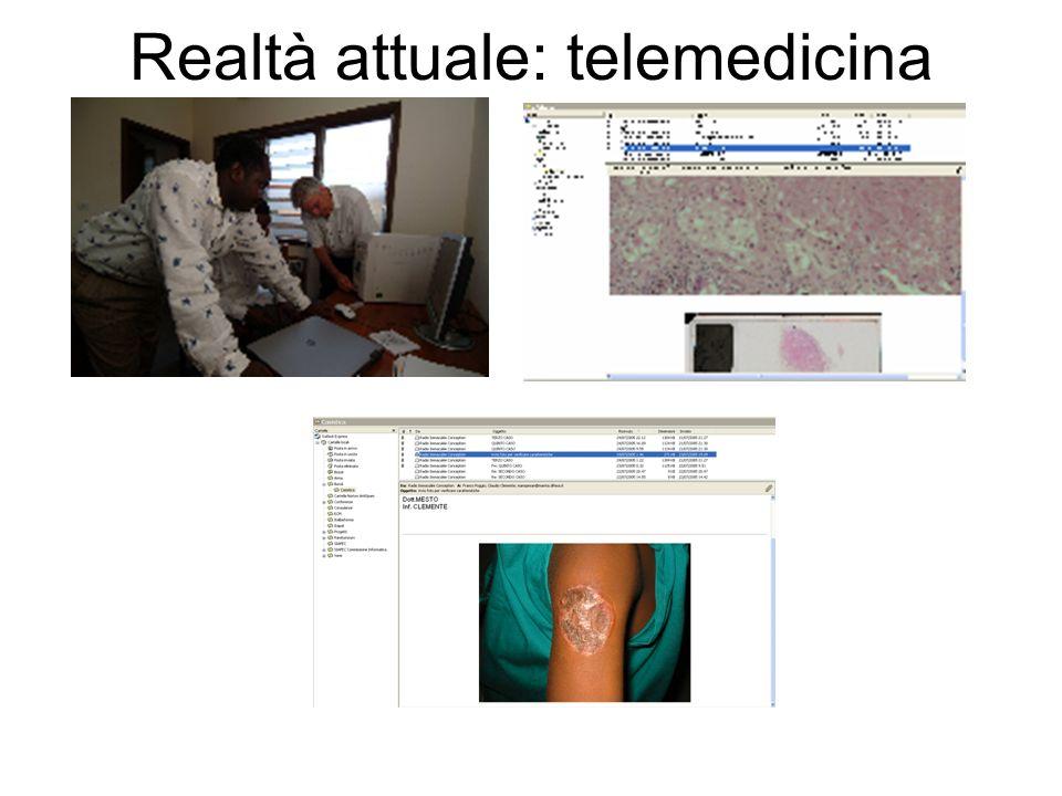 Realtà attuale: telemedicina