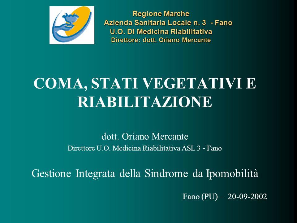 Regione Marche Azienda Sanitaria Locale n.3 - Fano U.O.