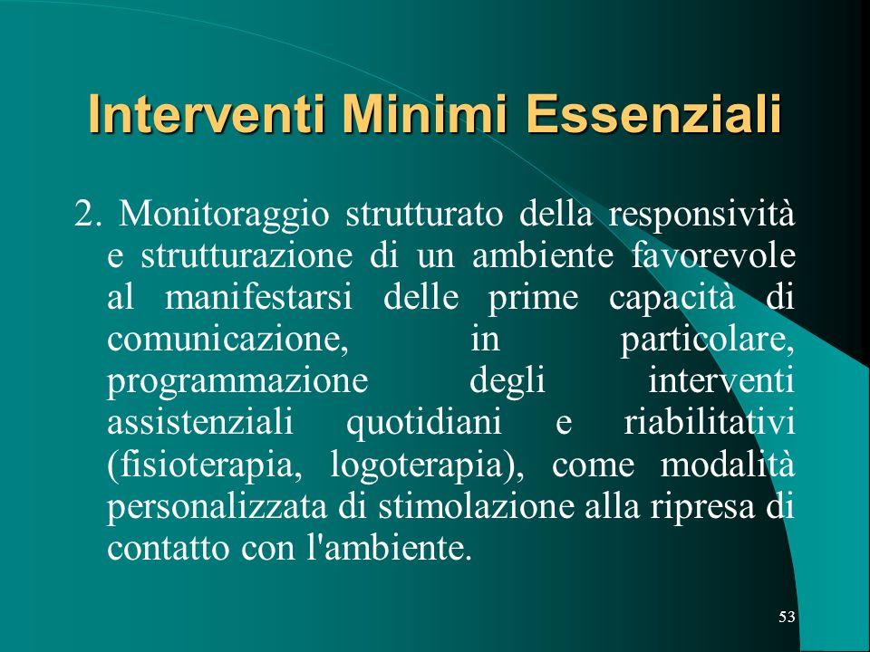 52 Interventi Minimi Essenziali 1.