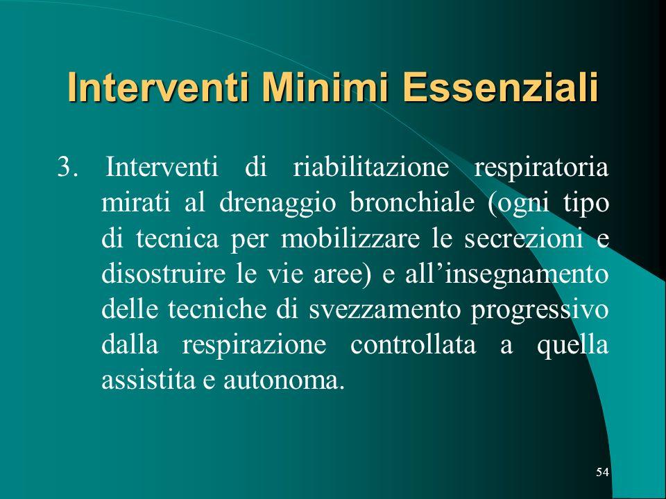 53 Interventi Minimi Essenziali 2.