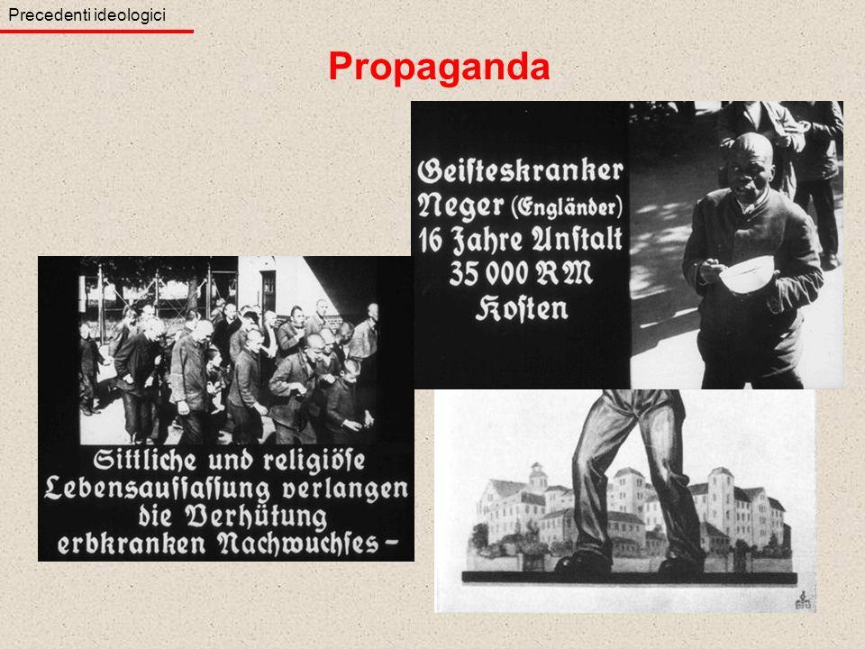 Propaganda Precedenti ideologici Disabili Inutile costo sociale