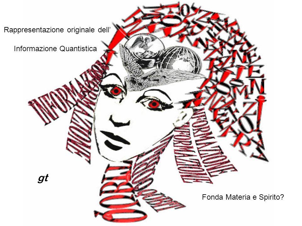 Informazione Quantistica Rappresentazione originale dell Fonda Materia e Spirito? gt