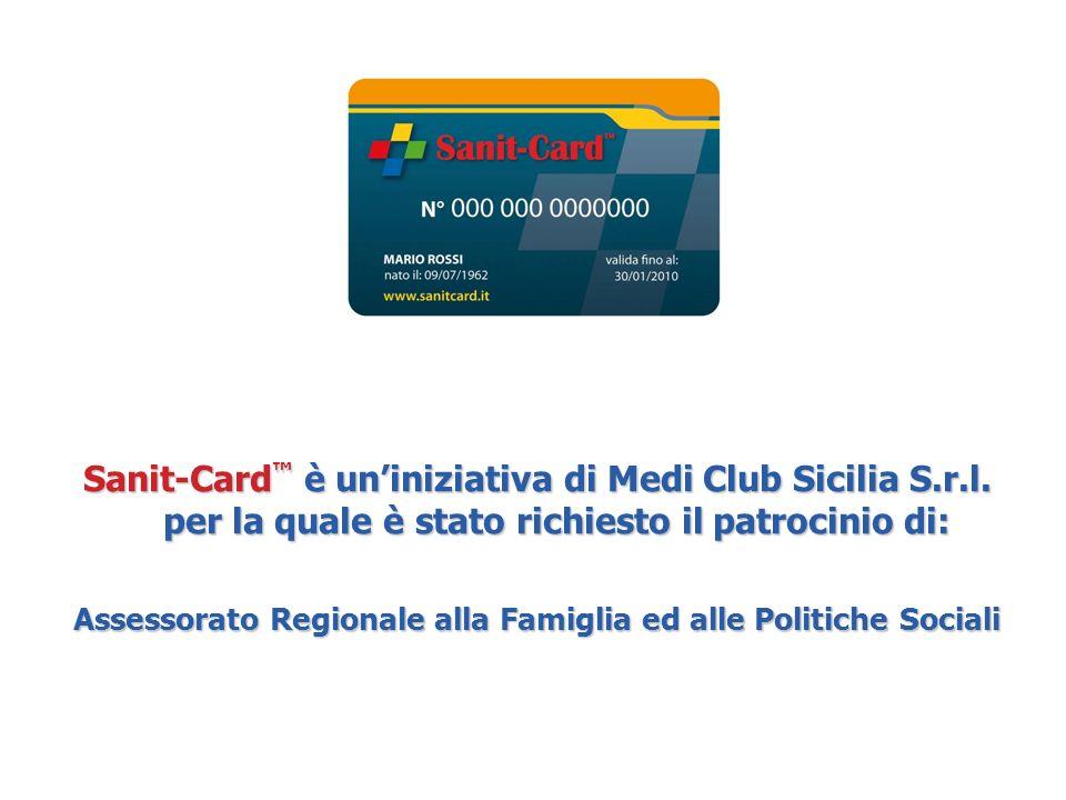 Sanit-Card è uniniziativa di Medi Club Sicilia S.r.l.