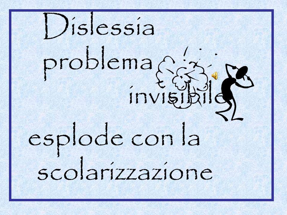 Dislessia problema invisibile esplode con la scolarizzazione