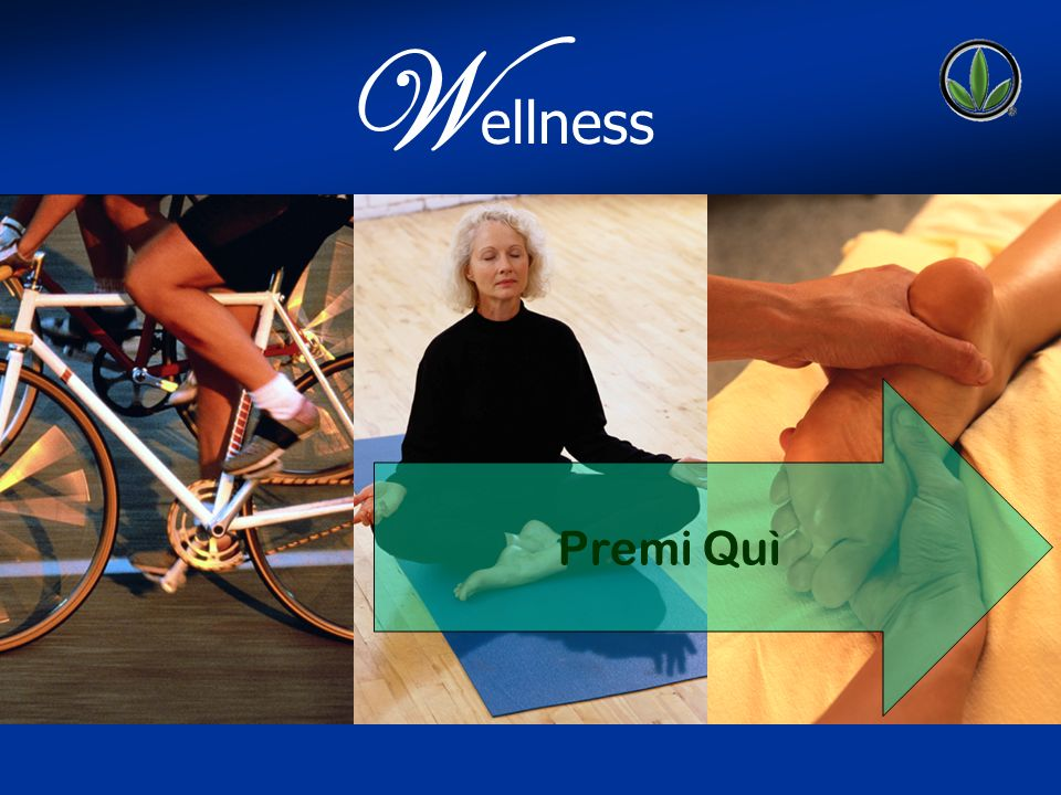 WELLNESS W ellness Premi Quì