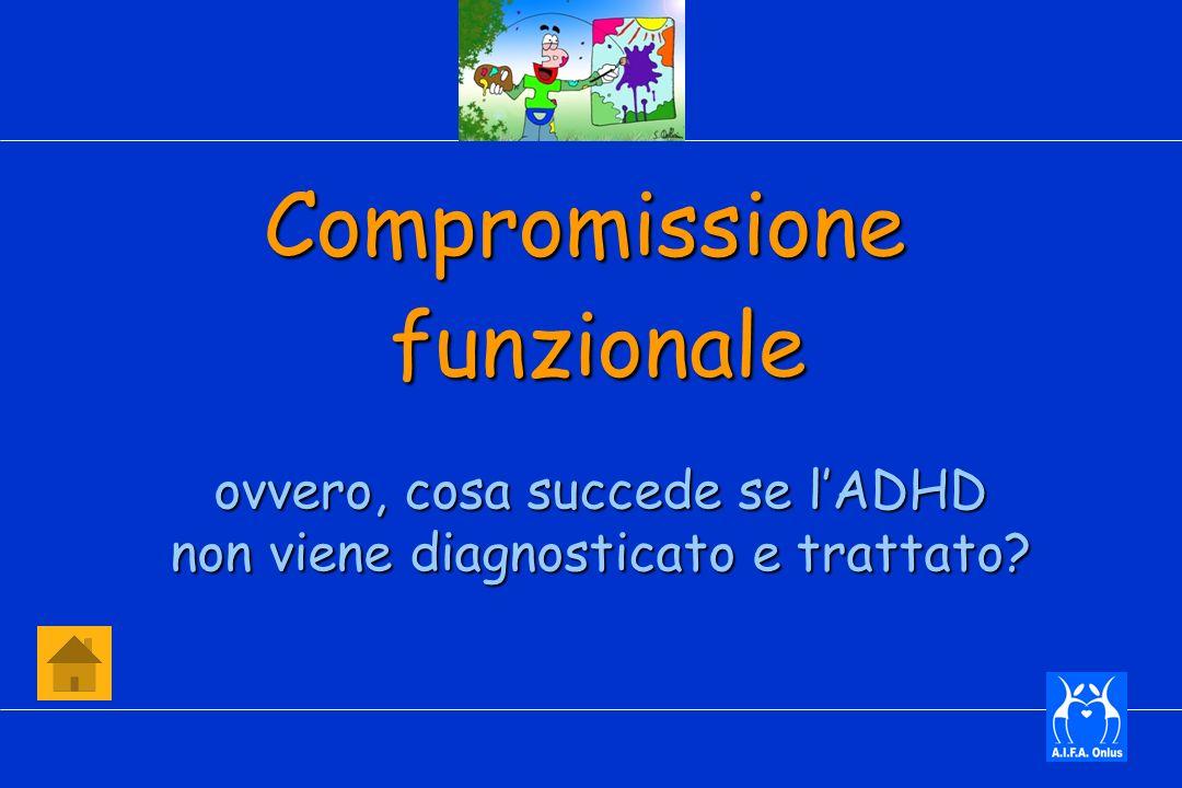 Compromissionefunzionale ovvero, cosa succede se lADHD non viene diagnosticato e trattato?