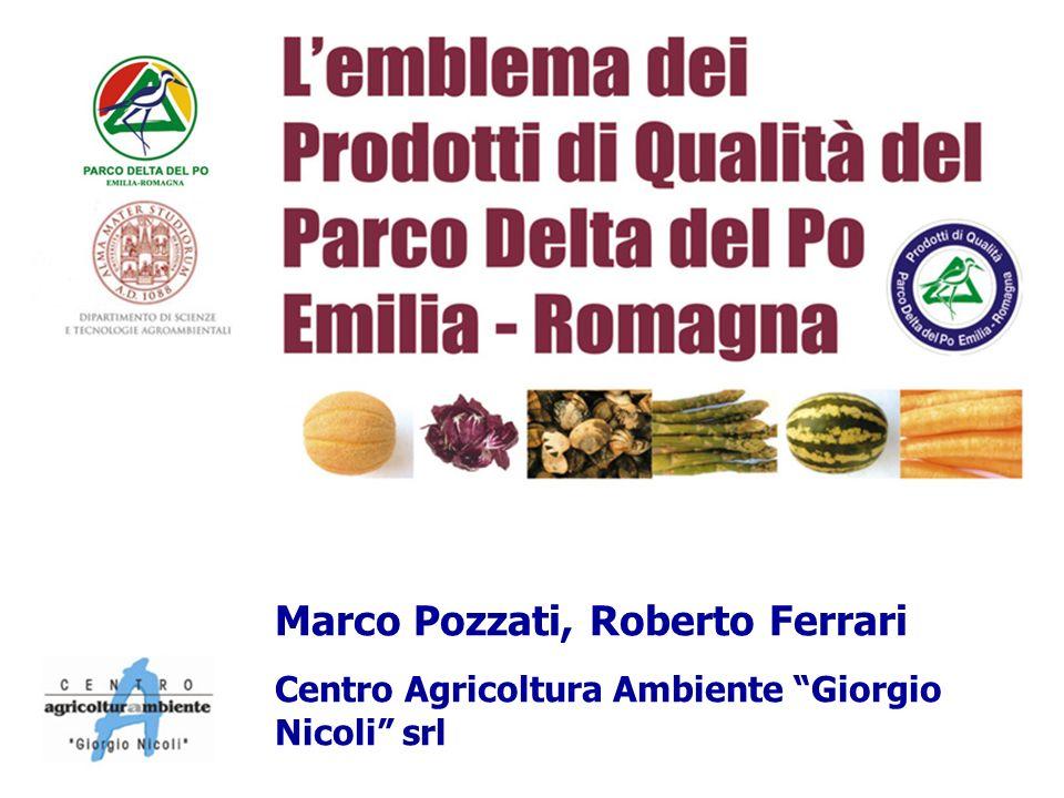 Marco Pozzati, Roberto Ferrari Centro Agricoltura Ambiente Giorgio Nicoli srl