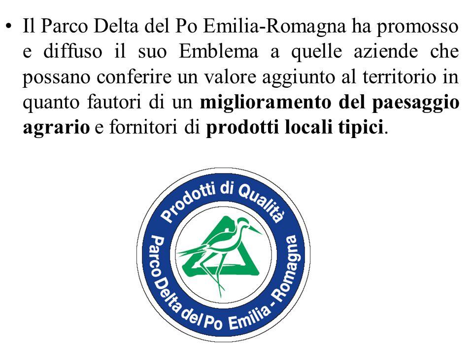 Il Parco Delta del Po Emilia-Romagna ha promosso e diffuso il suo Emblema a quelle aziende che possano conferire un valore aggiunto al territorio in q