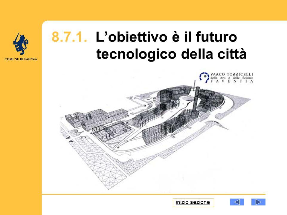 8.7.1. Lobiettivo è il futuro tecnologico della città inizio sezione