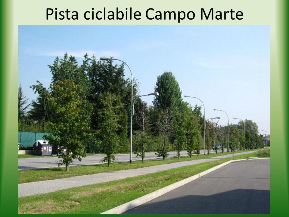 Pista ciclabile Campo Marte