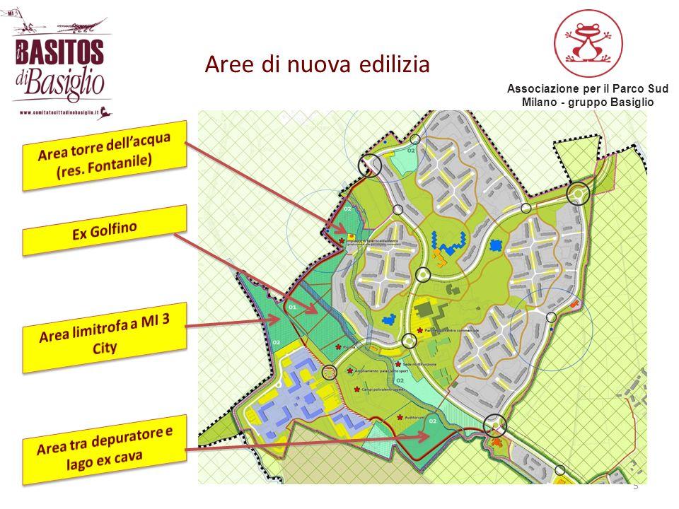 Associazione per il Parco Sud Milano - gruppo Basiglio 5 Aree di nuova edilizia