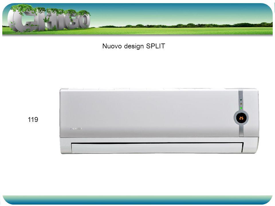Nuovo design SPLIT 119