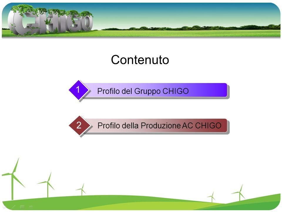 Profilo del Gruppo CHIGO 1 Profilo della Produzione AC CHIGO 2 Contenuto