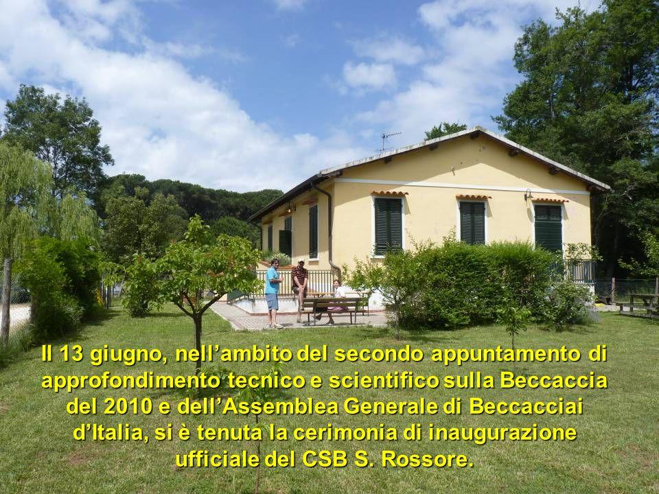 Il 13 giugno, nellambito del secondo appuntamento di approfondimento tecnico e scientifico sulla Beccaccia del 2010 e dellAssemblea Generale di Beccac