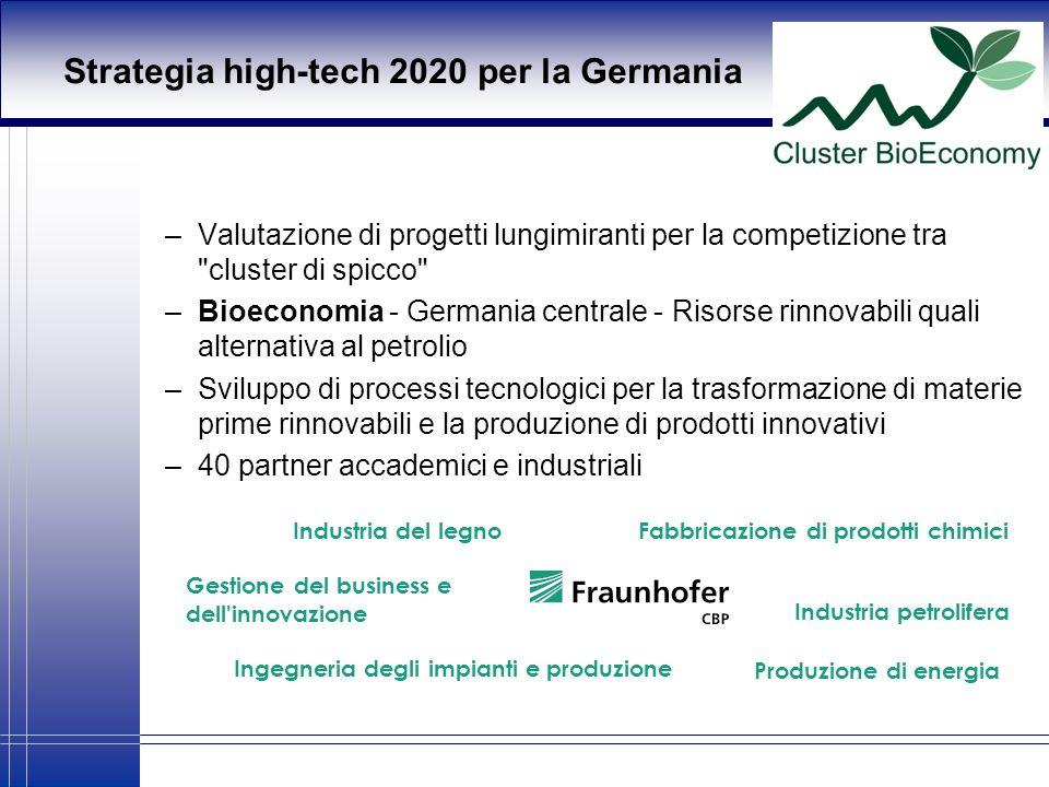 Strategia high-tech 2020 per la Germania –Valutazione di progetti lungimiranti per la competizione tra