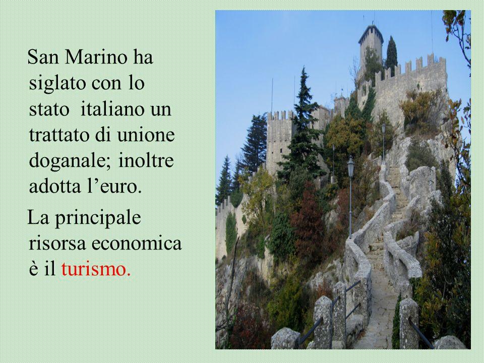 San Marino Al confine tra la Romagna e le Marche, la Repubblica di San Marino è il più antico stato indipendente dEuropa. Oltre alla capitale, San Mar