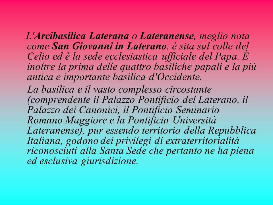 Le Basiliche di San Giovanni