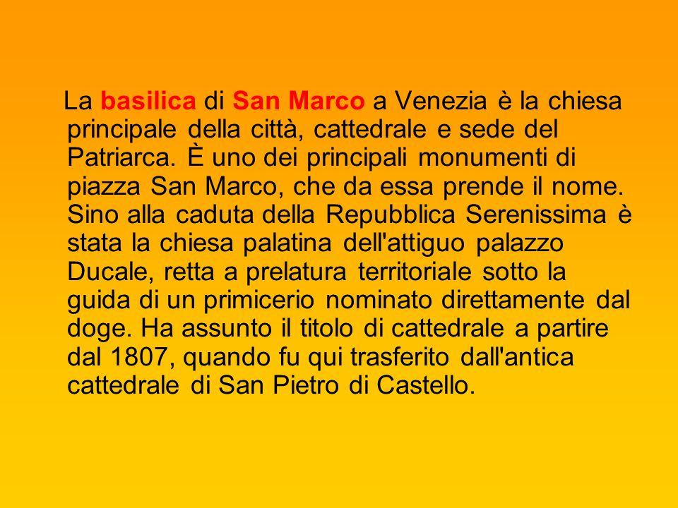 Le Basiliche di San Marco..