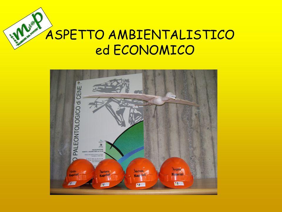 ASPETTO AMBIENTALISTICO ed ECONOMICO