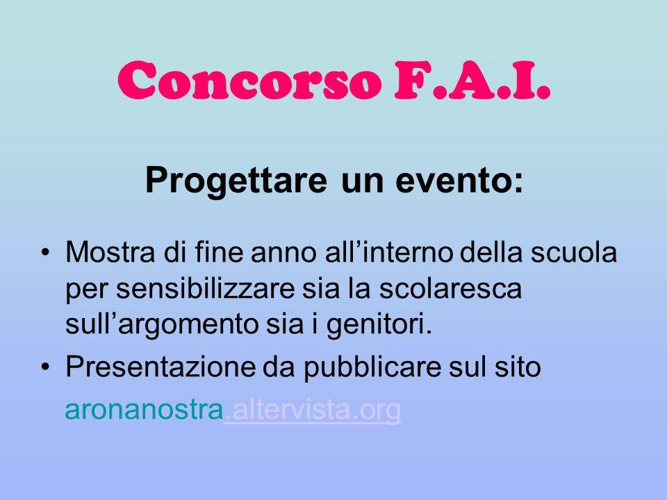 Concorso F.A.I.