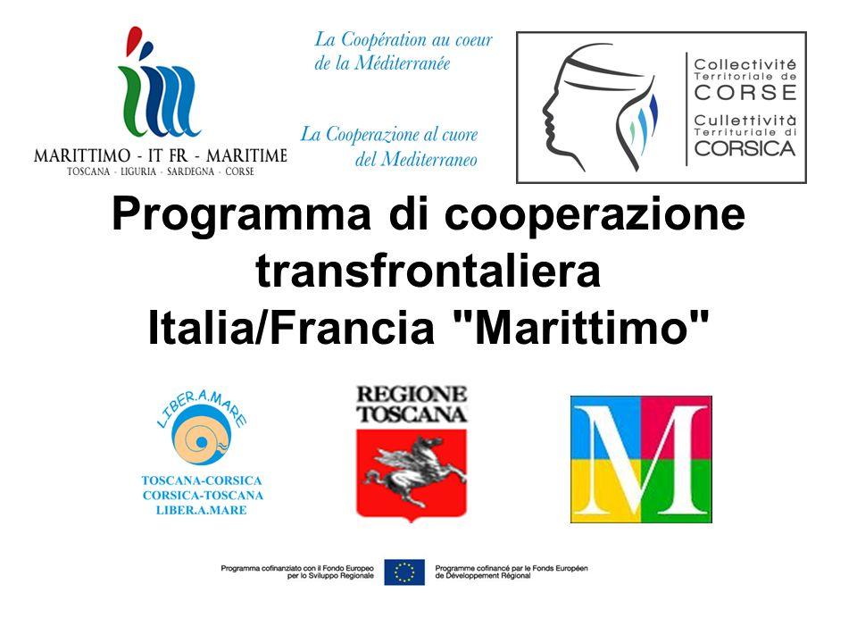 Programma di cooperazione transfrontaliera Italia/Francia
