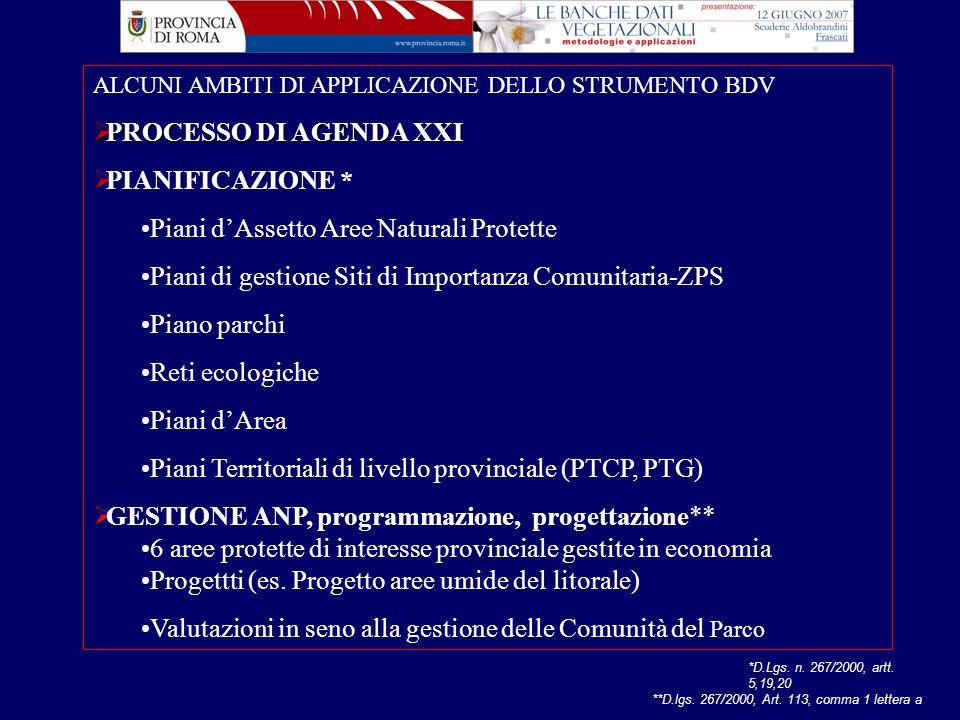 fta Anna Guidi Provincia di Roma Dipartimento V - Servizio 1 Ambiente search