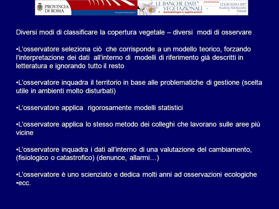 Elaborazioni successive previste: es.
