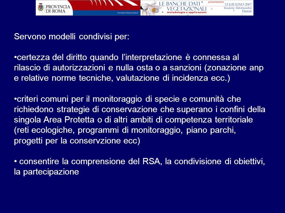 Servono modelli condivisi per: certezza del diritto quando linterpretazione è connessa al rilascio di autorizzazioni e nulla osta o a sanzioni (zonazi
