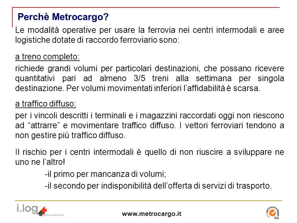 www.metrocargo.it Perch è Metrocargo.