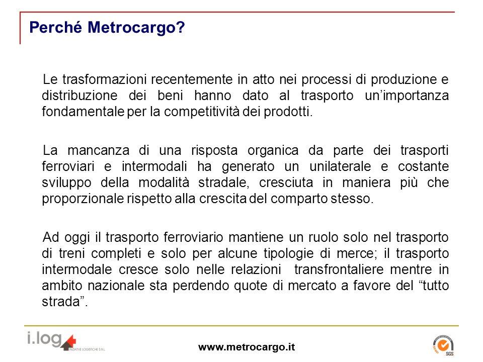 www.metrocargo.it Perché Metrocargo.