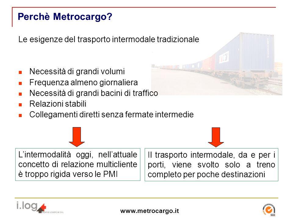 Perchè Metrocargo.