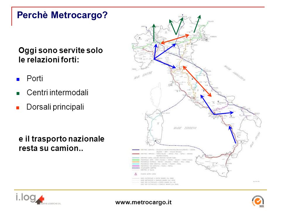 www.metrocargo.it Perchè Metrocargo.