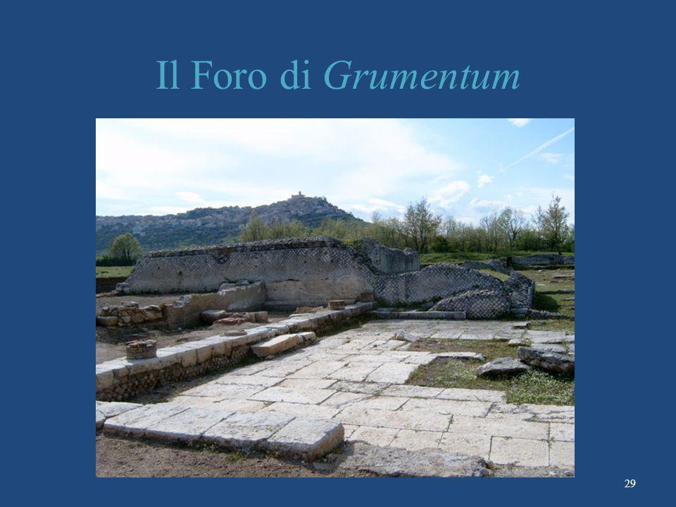 Il Foro di Grumentum 29