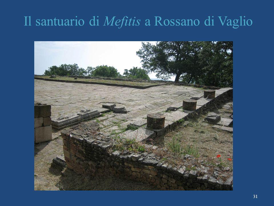 Il santuario di Mefitis a Rossano di Vaglio 31