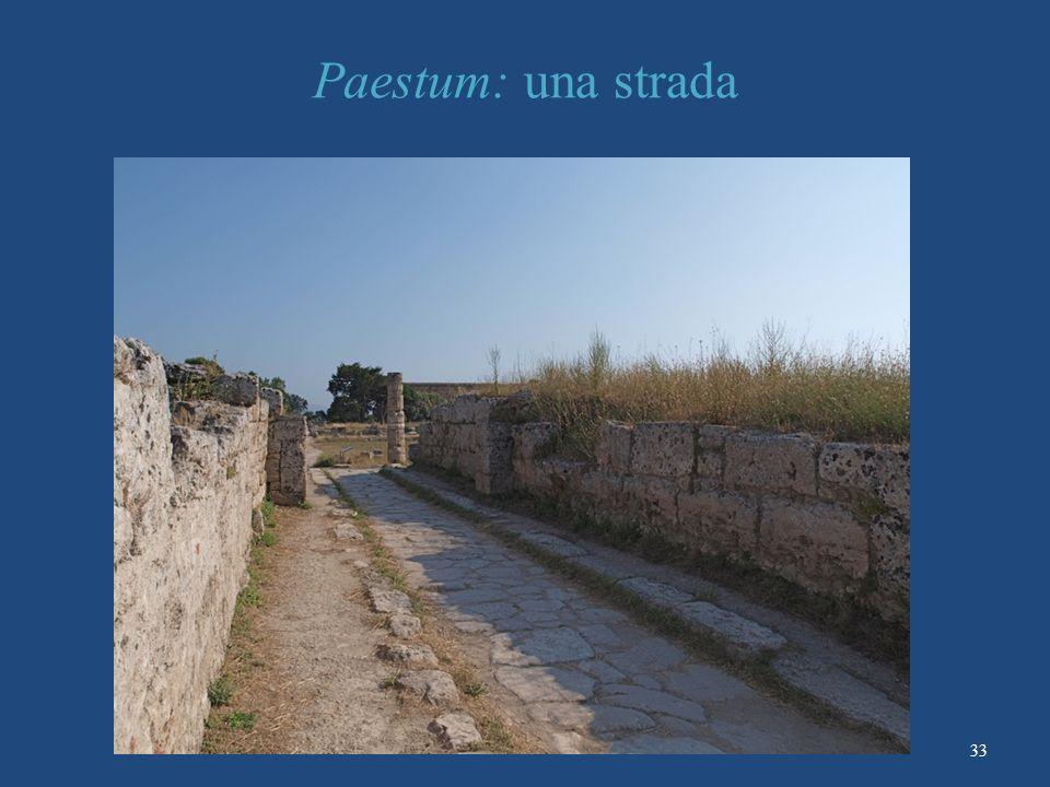 Paestum: una strada 33