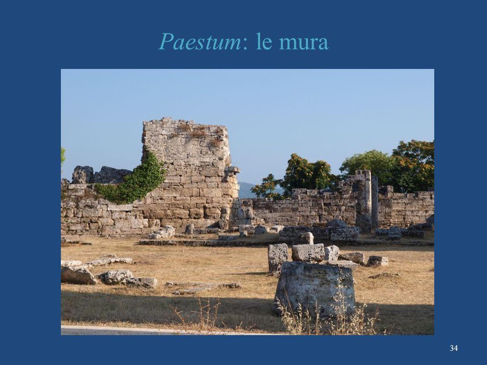 Paestum: le mura 34