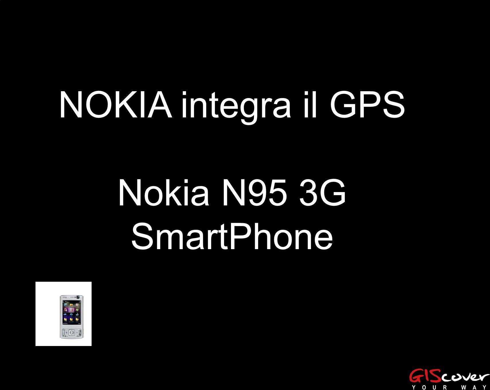 NOKIA integra il GPS Nokia N95 3G SmartPhone