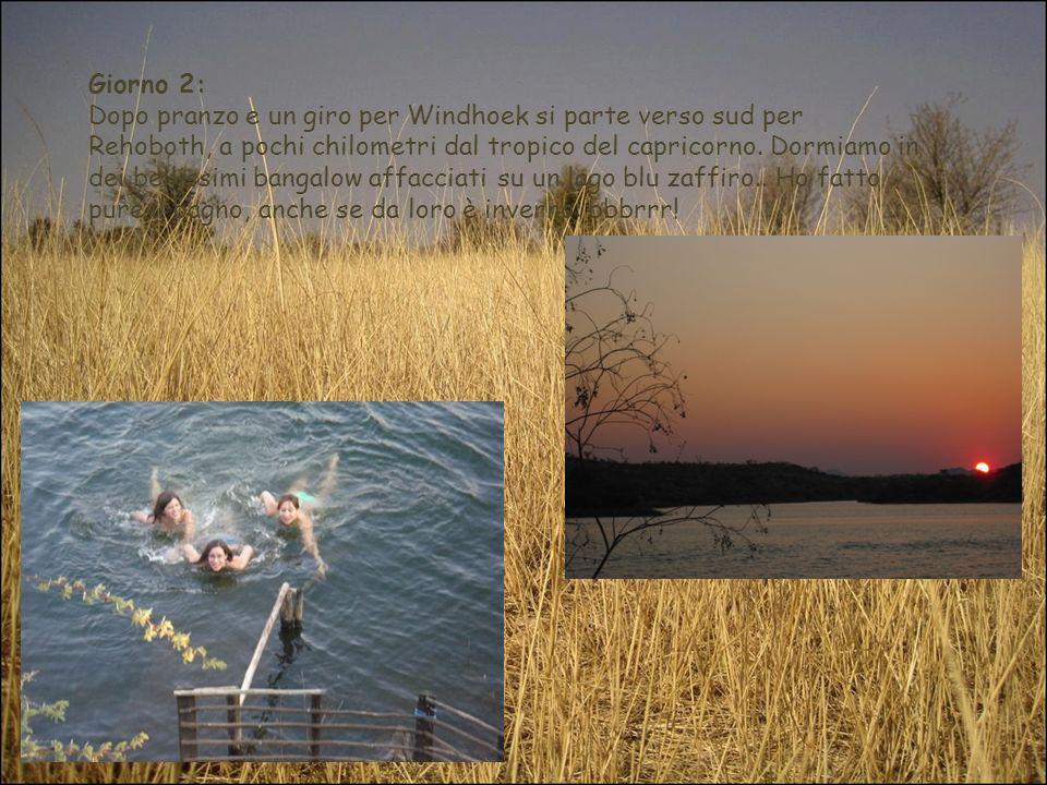Giorno 12 13 14 15 16: Si arriva a Rundu.