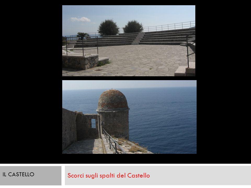 Scorci sugli spalti del Castello Viste interne della fortezza. IL CASTELLO