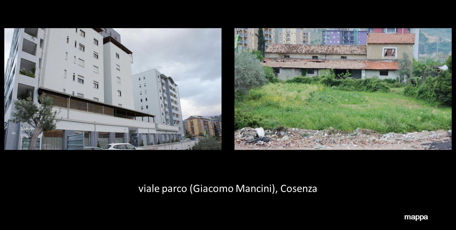 viale parco (Giacomo Mancini), Cosenza mappa