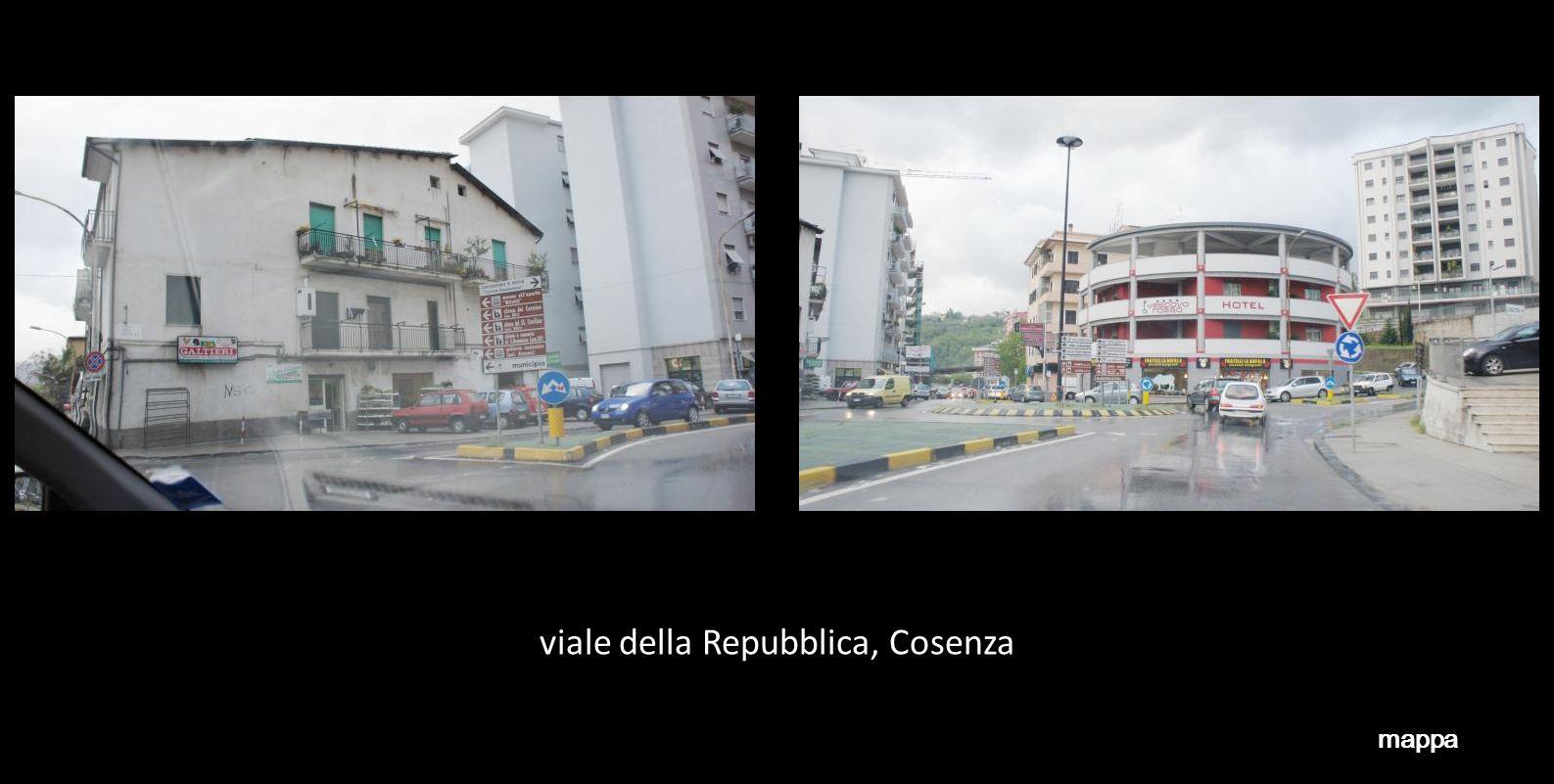 viale della Repubblica, Cosenza mappa
