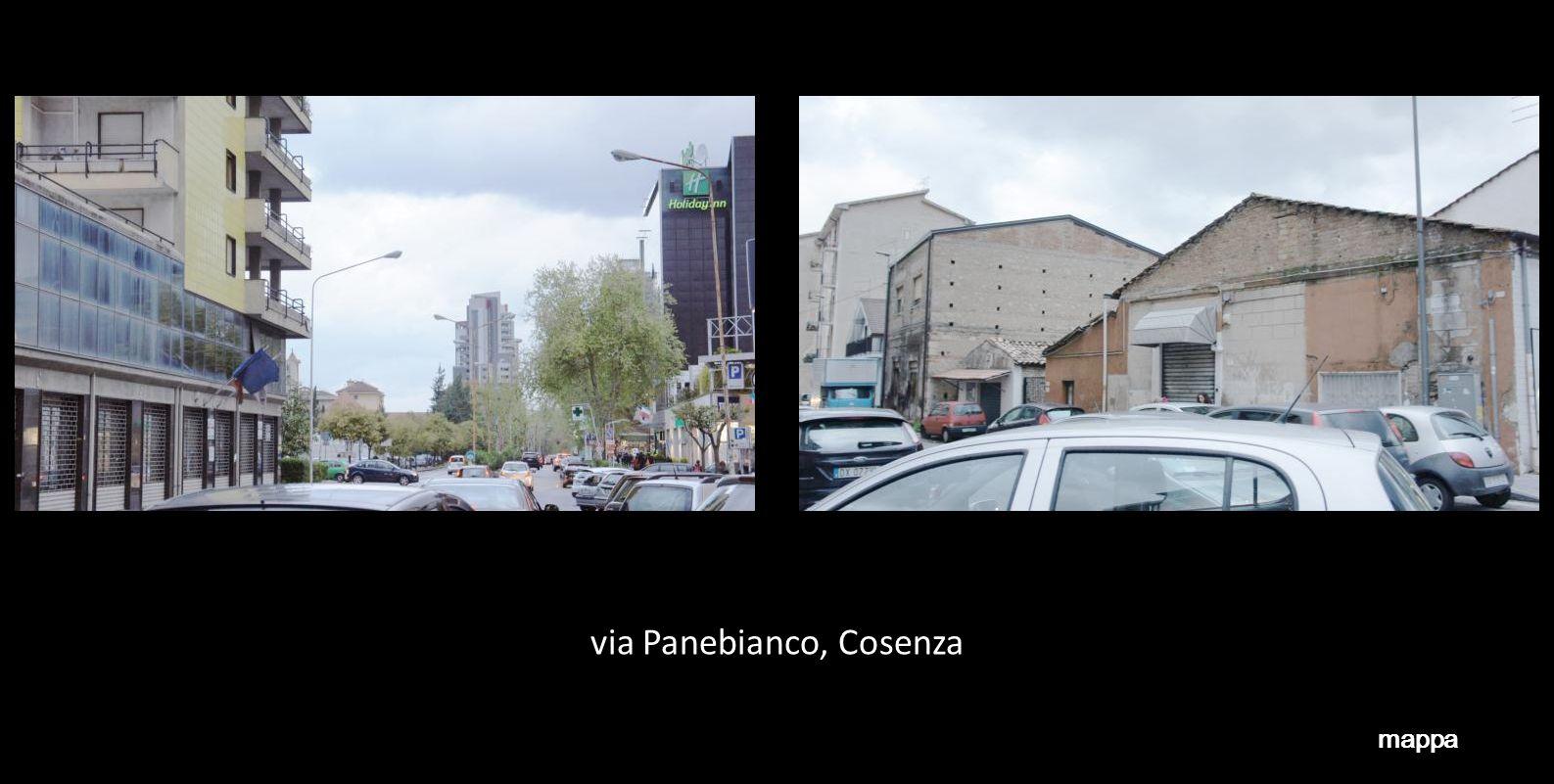 via Panebianco, Cosenza mappa