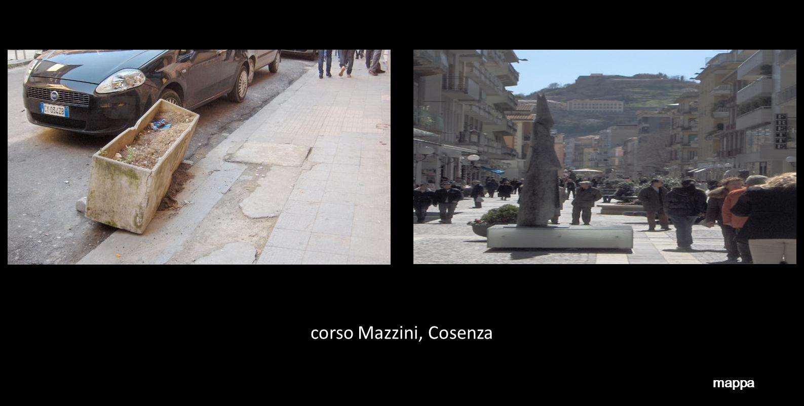 via padre Giglio, Cosenza mappa