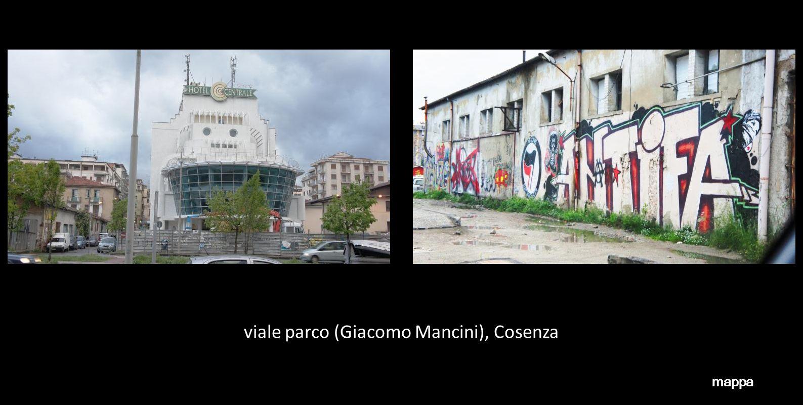traversa via Popilia, Cosenza mappa