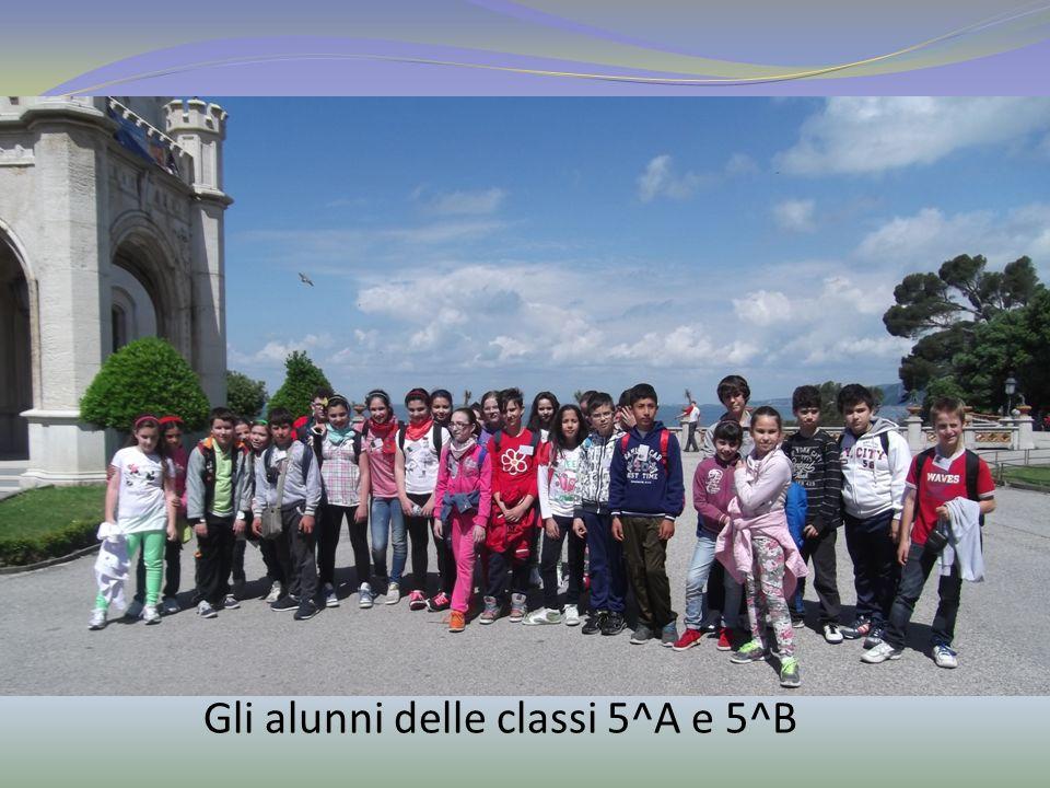 Gli alunni delle classi 5^A e 5^B