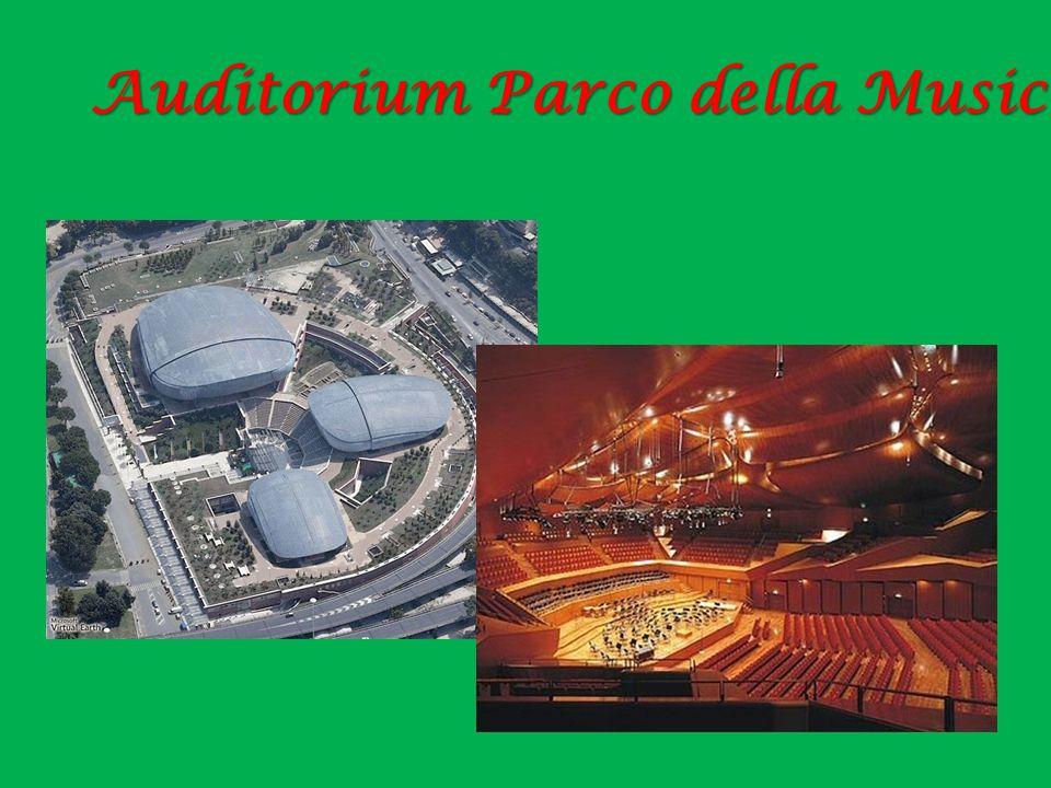 Auditorium Parco della Musica di Roma