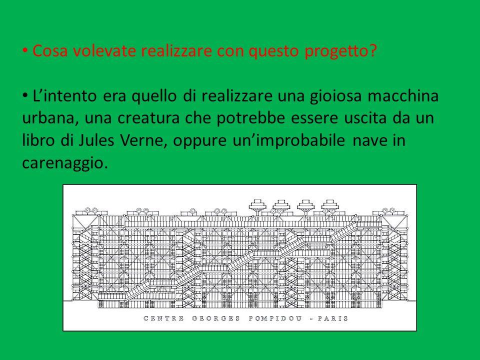 Cosa volevate realizzare con questo progetto? Lintento era quello di realizzare una gioiosa macchina urbana, una creatura che potrebbe essere uscita d