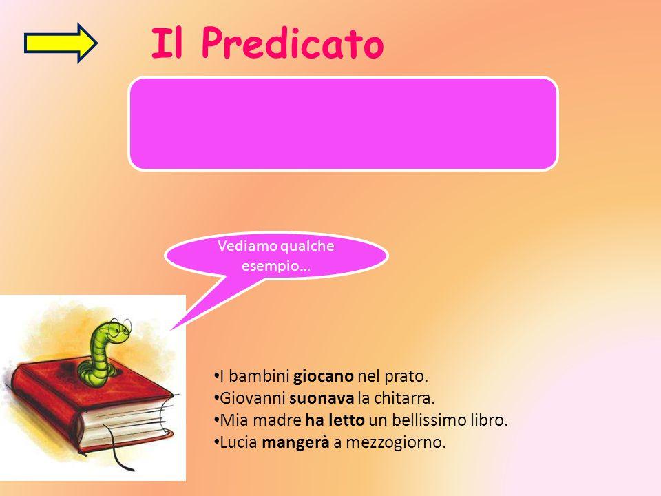 A seconda che sia costituita da un verbo di senso compiuto o da una copula, il predicato si distingue in: PREDICATO VERBALE PREDICATO NOMINALE E qualsiasi verbo che esprime un significato compiuto.