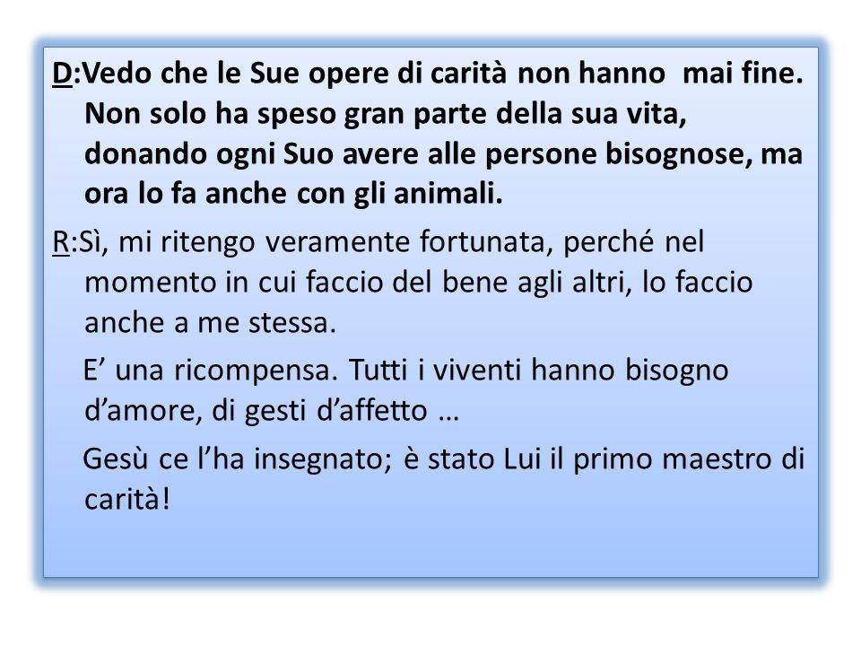 D:Lei è la primogenita di ventun figli e Suo padre (Pietro Agnesi) lha fatta studiare con i migliori precettori.